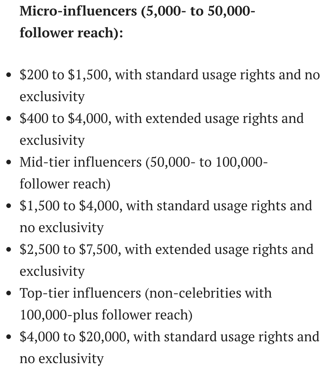 How To Set The Right Price For Your Influencer Marketing Campaign