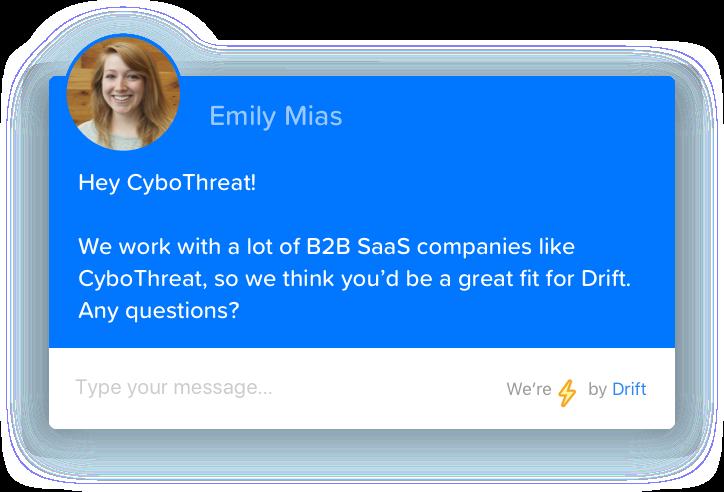 drift account-based marketing chatbox
