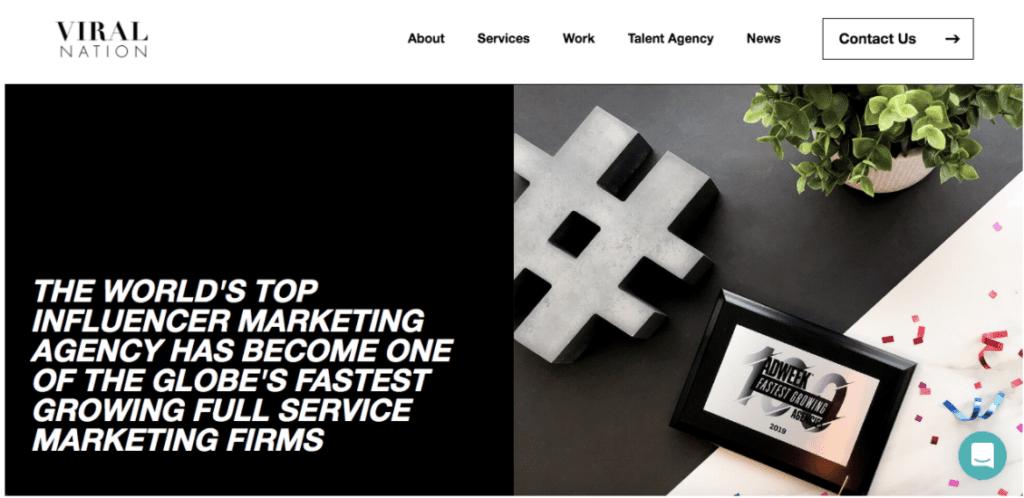 influencer marketing agencies